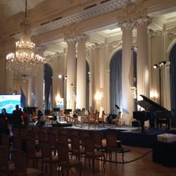 The Hall of the Americas, at the Organization of American States for a tango concert.