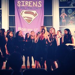 Mary sings her senior solo, Counting Stars, at the spring 2014 concert