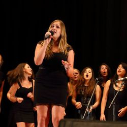 We're so glad our graduate Sami could come and sing with us at OShow 2014!