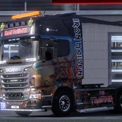 Iron Maiden Trooper Scania Mod