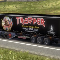 Iron Maiden Trooper Beer Trailer & Cargo Mod