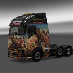Iron Maiden Trooper Beer Volvo 2013 FH16