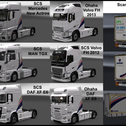 Large Scania Transport Laboratory Mod