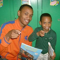 """Julian reaching out to Northwood Elementary School. . """"Read Across Northwood"""""""
