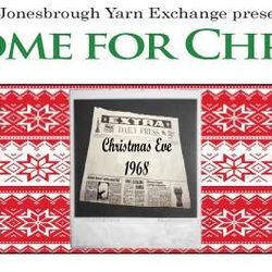 I AM HOME FOR CHRISTMAS. An interactive community performance play based on Christmas stories from the region, and performed in various locations in the historic downtown.