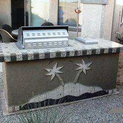 Outdoor Kitchen (BBQ Island Model #2)