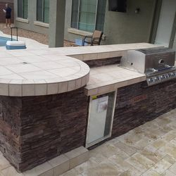 Outdoor Kitchen (BBQ Island Model #1)