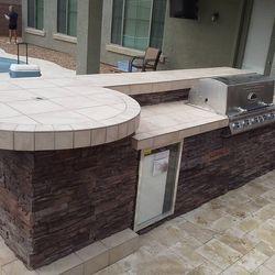 Outdoor Kitchen (BBQ Island Model #1)