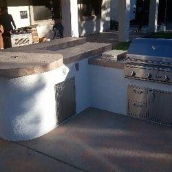Outdoor Kitchen (BBQ Island Model #6)