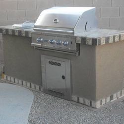 Outdoor Kitchen (BBQ Island model #2)