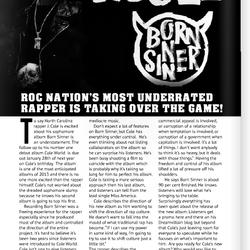 J. Cole Feature; Beatz Magazine 2013