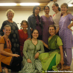 Stage avec Sharmila Sharma - Novembre 2011