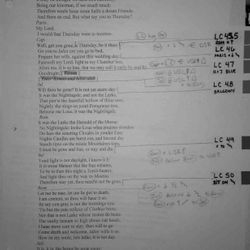 "Call Script - ""Puppet Romeo and Juliet"""