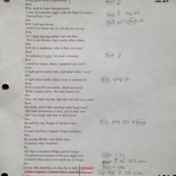 """Rehearsal Script - """"Puppet Romeo and Juliet"""""""