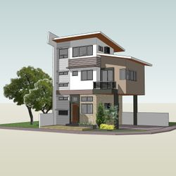 Three-storey Private Residence in Kawit, Cavite Option 2