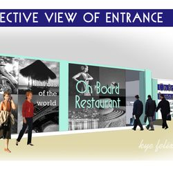 Conceptual Design for On Board Restaurant