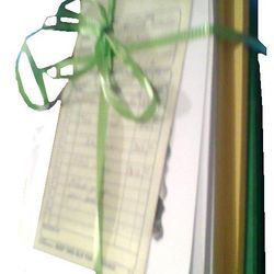 Once you receive your order it comes with a ribbon and sales order.