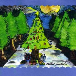 """This is the """"Christmas/Winter Design with water of 2012"""" for $2.00"""