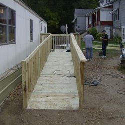Community Service Project, build a ramp!!