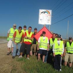 2013 Spring Adopt A Highway crew.