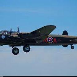 Restored Lancaster Bomer