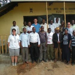 AAI/KUHA volunteers arrive at KUHA Office in May,2010