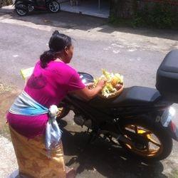 Tumpuk Landep - Balinese day to bless all things metallic !