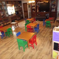 School Room at Lad 'N Lassie