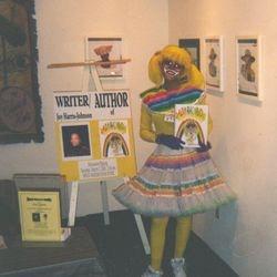 Lady Rainbow debuts at Mood Makers Book Store.