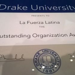 "LFL receives an ""Outstanding Organization"" award"