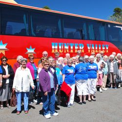 Visitors from the Hunter Valley