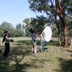 Filming at Tipperary Gully