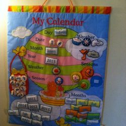 learning time calender