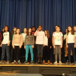 Acapella students sing 'Scars' during our LEAP Family Winter Celebration
