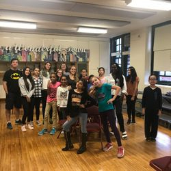 Power Hour students pose with Vision Zero volunteers