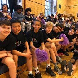 LEAP Boys Basketball Players