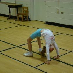 Tumbling practice