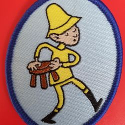 Bwbachod oval woven badge 2004 - date