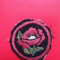 Poppy brightred+black