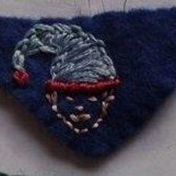 Jester (blue felt)
