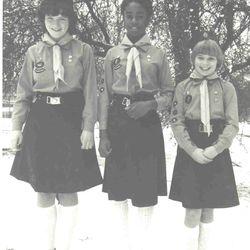 1980s Girl Guide uniform
