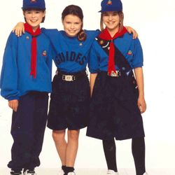 1990s Girl Guide uniform
