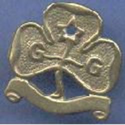 1920-1932 Flat Scroll Promise Badge