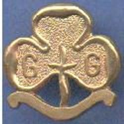 1968-2002 flat narrow scroll Promise Badge