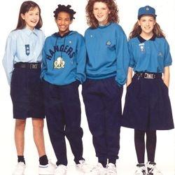Senior Section uniforms - 1990