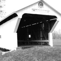 1887 Dixon Covered Bridge (Located in the Lewisburg Park)