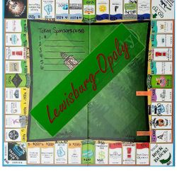 EXAMPLE MONOPOLY BOARD GAME