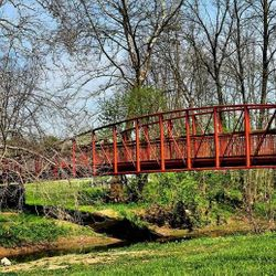 Lewisburg Park Footbridge - Spring (Photo credit to  4MAN - MOTORSPORTS)