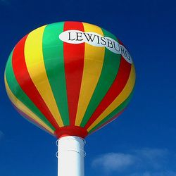 Hot Air Balloon - Water Tower