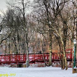Lewisburg Park Footbridge - Winter (Photo credit to 4MAN - MOTORSPORTS)